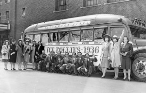 Ice Follies 1936 Bus
