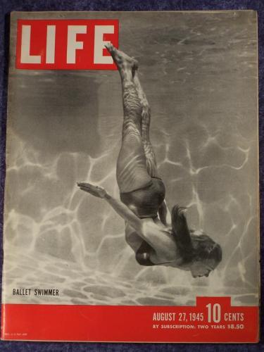 Life Magazine: Ballet Swimmer