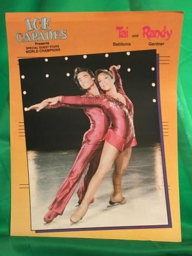 Ice Capades Tai and Randy
