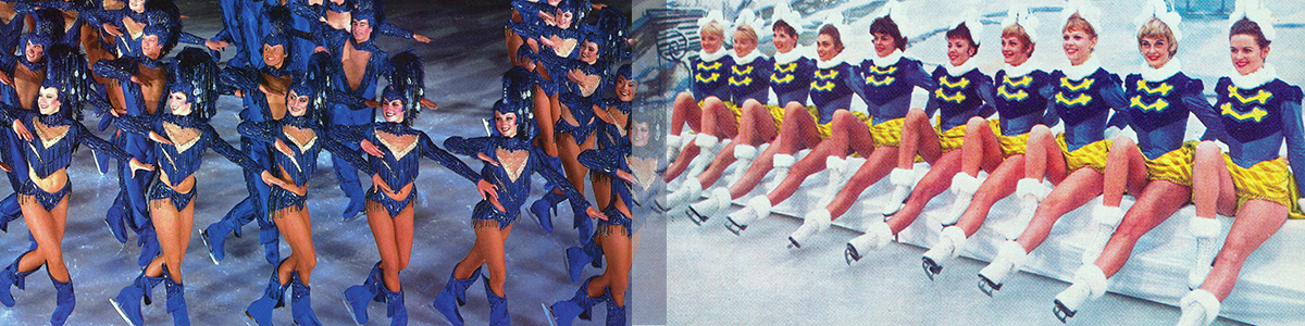 Chorus Skaters from Volumes 2 and 4